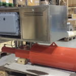 EY: Attuatore elettro-idraulico Scotch Yoke Heavy Duty